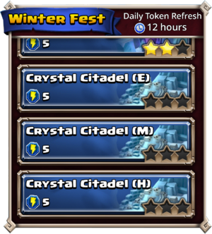 Crystal citadel dungeons