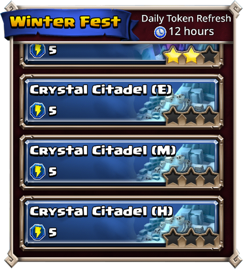 Crystal citadel dungeons