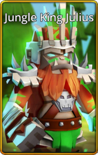 Jungle King Julius skin