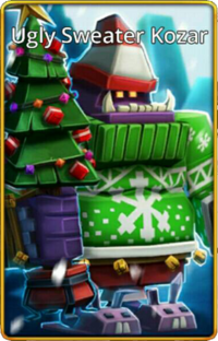 Ugly Sweater Kozar skin