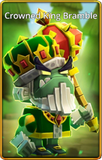 Crowned King Bramble skin