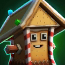 Gingerbread Rocky 0A Icon