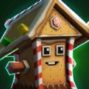 Gingerbread Rocky 1A Icon