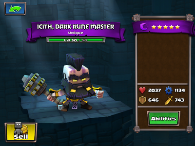 Icith, Dark Rune Master lvl 50