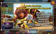 Aria update banner