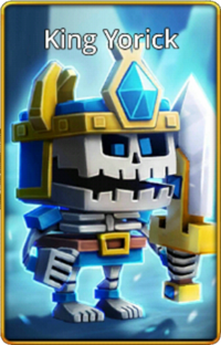 King Yorick default skin