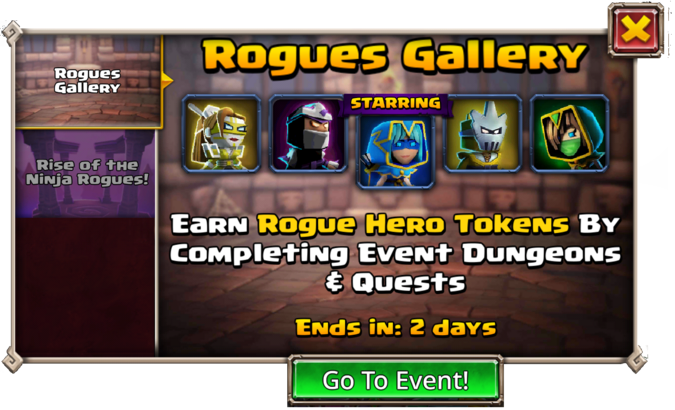 Rogues Gallery With Indigo