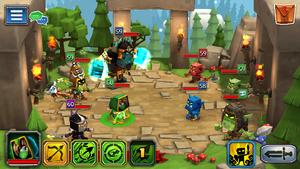 Goblin Raid 1 fights