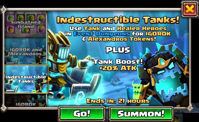Indestructable Tanks