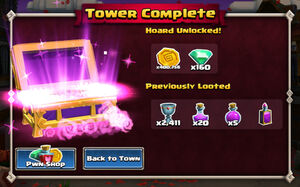 Tower completed 1