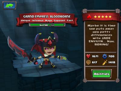 Grand Empress Bloodborne lvl 50