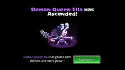 Demon Queen Ella ascended 1