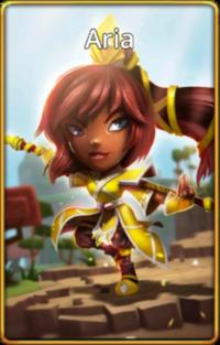 Aria default skin