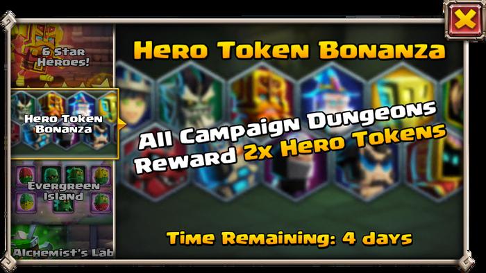 Hero bonanza
