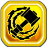 Electrified Whirlwind Icon