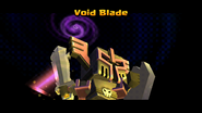 Void Blade In Game