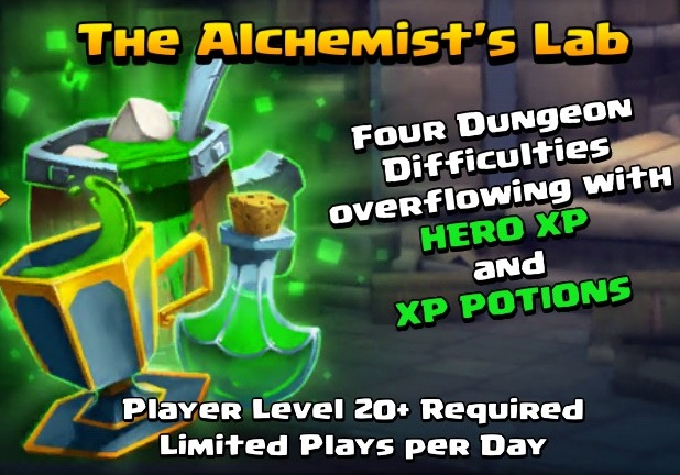 Alchemist Lab XP Island