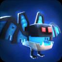 Bat 01 Blue