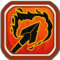 Flaming Arrow Icon