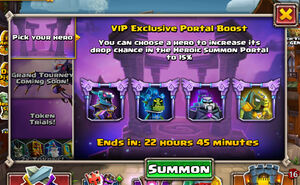 VIP Portal Boost Pick