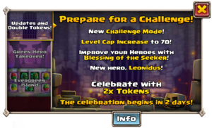 Prepare for the Challange