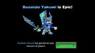 Bushido Takumi Is Epic