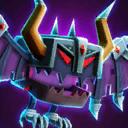 Bat 04 Purple