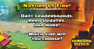 Fire vs Nature