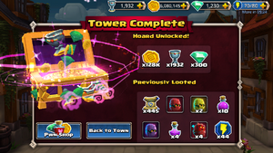 Tower of pwnage complete
