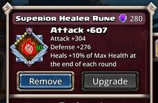 Healer Rune Superior
