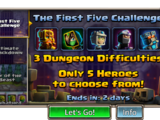 First Five Challenge