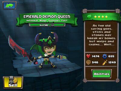 Emerald Demon Queen