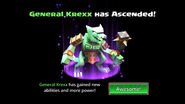 General Krexx unascended