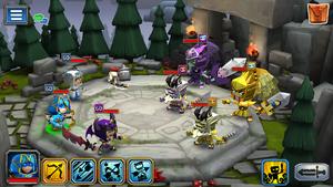 The Dark Angel Battle
