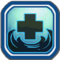 Water Heart Icon