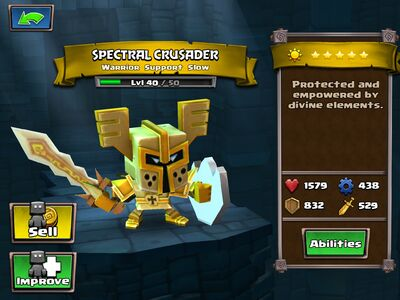 Spectral Crusader