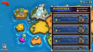 Evo Island locked