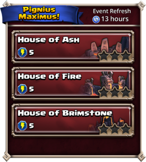 Pignius Maximus Returns dungeons
