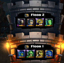 Tower of Pwnage floor 1 and 2