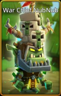 War Chief NubNub skin