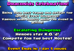 Draconids Celebration