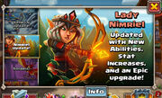 Lady Nimriel Update