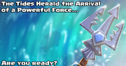 The tides Herald the Arrival of a Powerful force