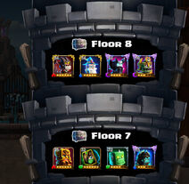Tower of Pwnage floor 7 and 8