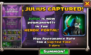 Julius Heroic Portal