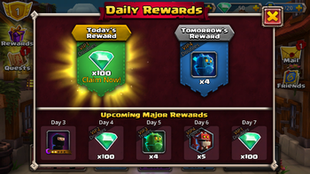 Daily Rewards