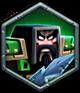 Drakk the Warlord token 1