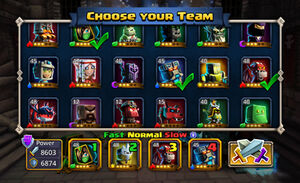 Hero Selection