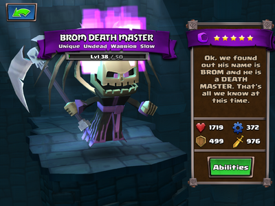 Brom Death Master