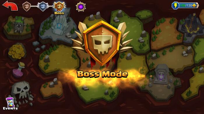 Boss Mode enter map